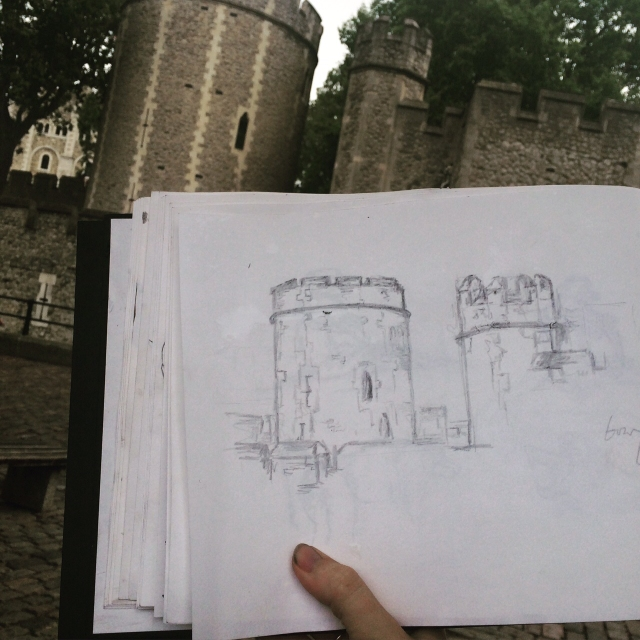 Tower Drawing