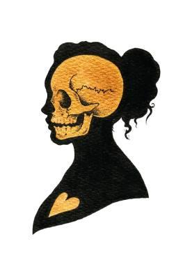 Lozzy Bones Tower of Love Death Silhouette
