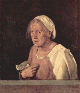 Old Woman Giorgione (Giorgio Barbarelli da Castelfranco)